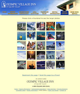 Squaw Valley Olympic Village Inn Photoviewer